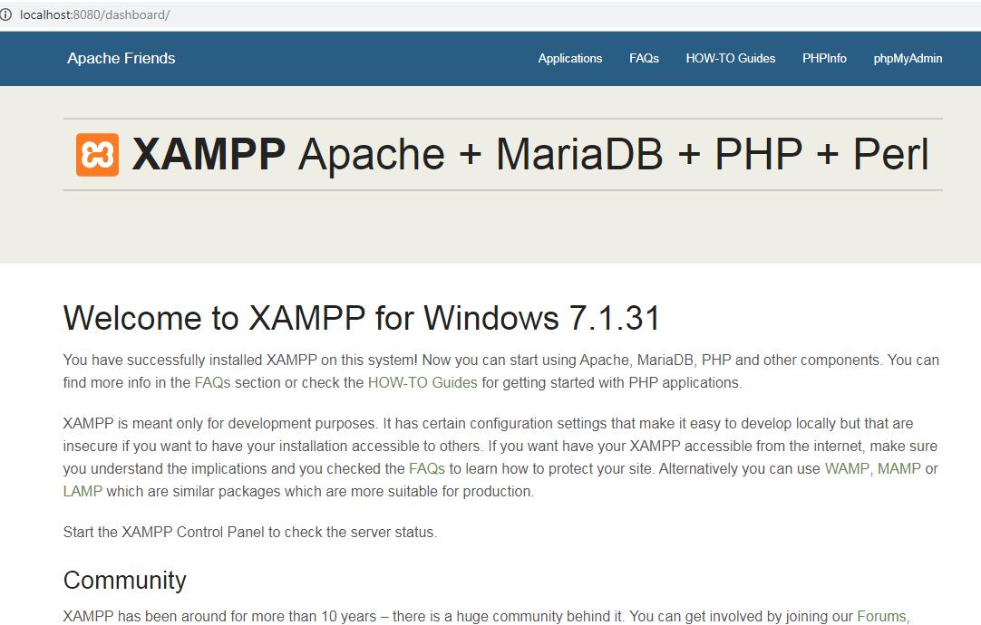 Cara Install Xampp Di Windows Dan Cara Konfigurasi Localhost Xampp Tulisan Lobak