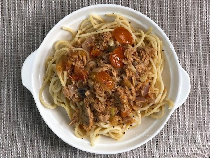 Recipes | Spicy Tuna Spaghetti