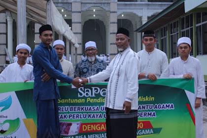 SaPeFaM: Alhamdulillah Ka 5 Droe Santri Tabantu Biaya Jak Beut