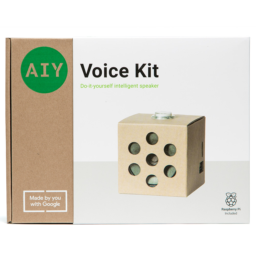 Google Developers Blog: AIY Projects: Updated kits for 2018