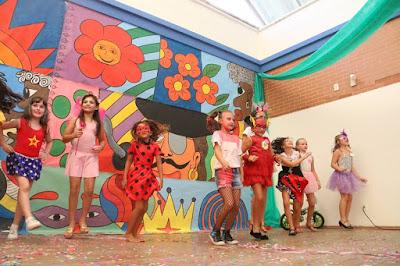 Carnaval infantil em Itapema