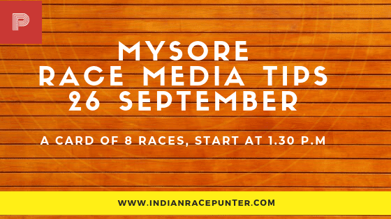 Mysore Race Media Tips, free indian horse racing tips, trackeagle, racingpulse