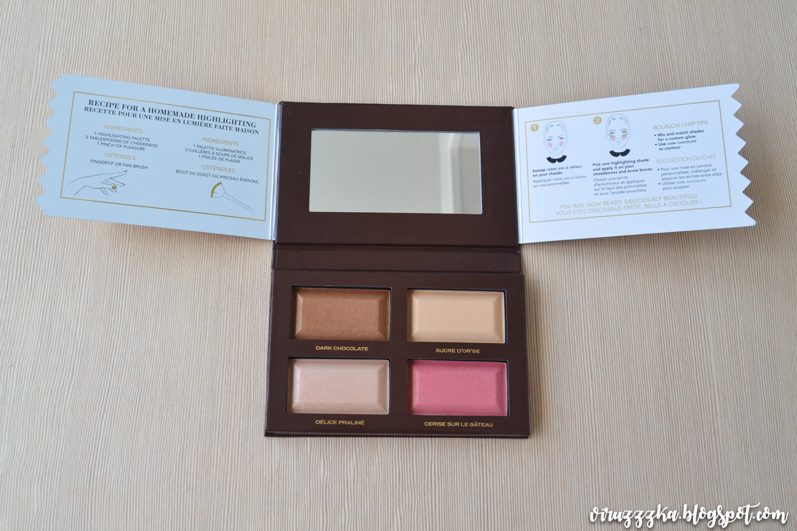 Bourjois Delice de Poudre Bronzing and Highlighting Palette