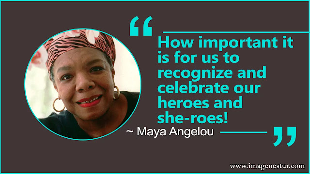 Maya Angelou Quotes about black
