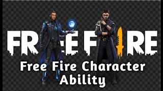 Free fire character ability kya hai