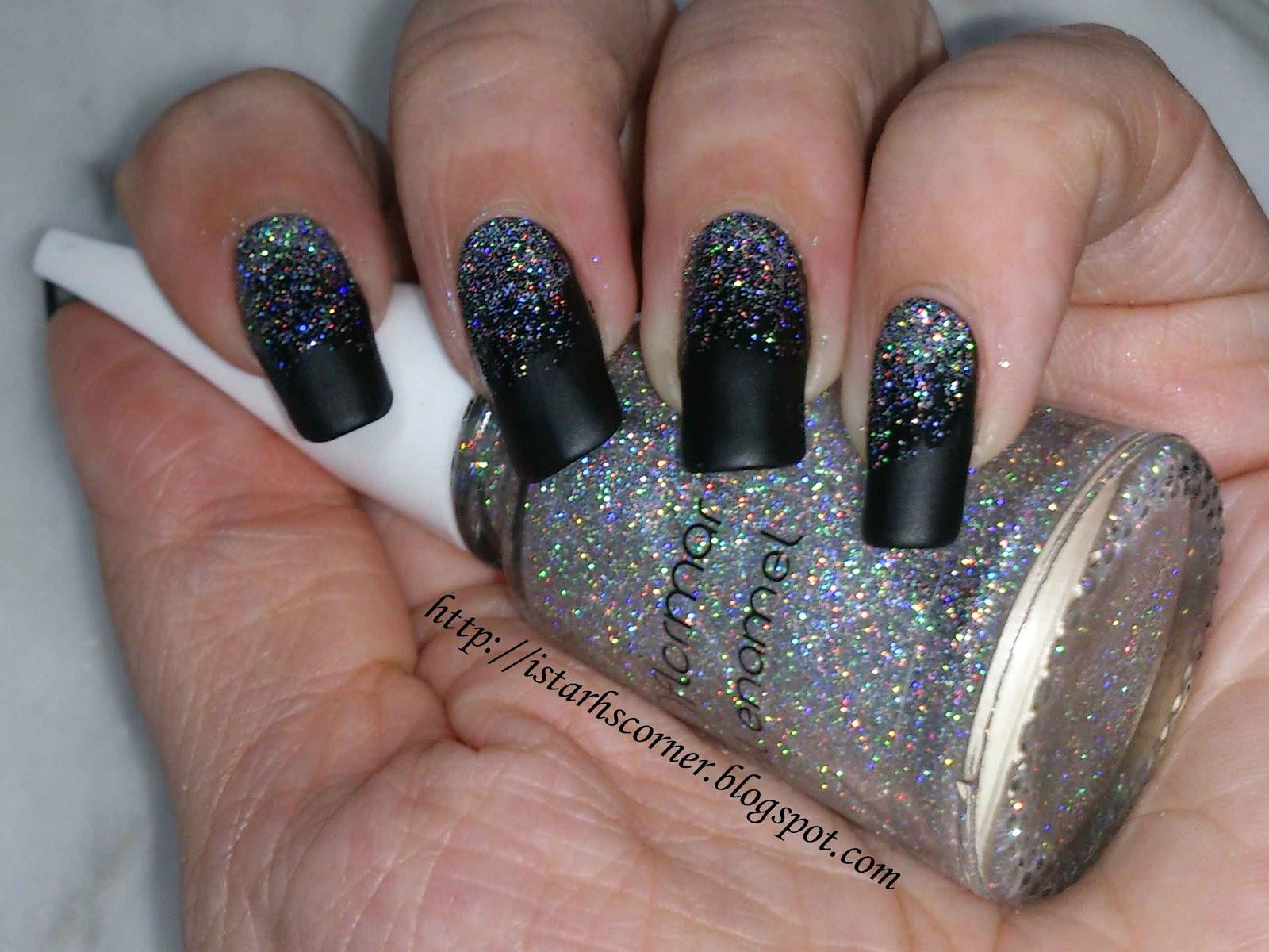 Istarh\'s Corner (Mi rinconcito): Degradado en glitter