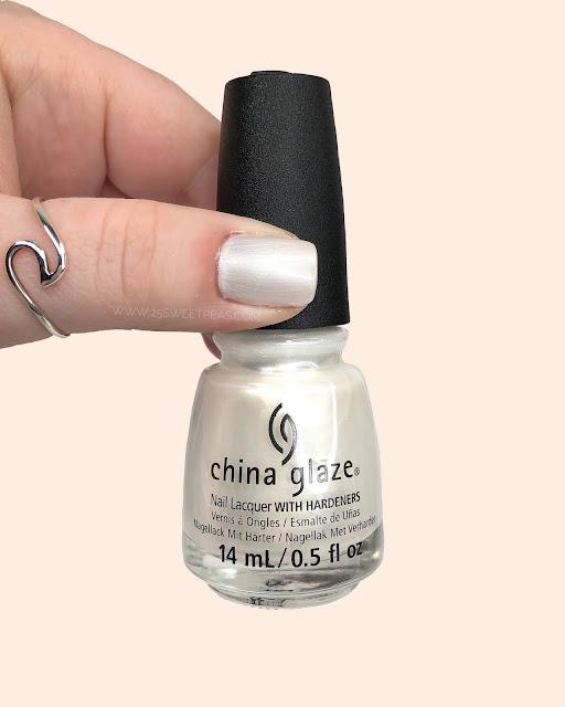 China Glaze PEARL TALK 25 Sweetpeas