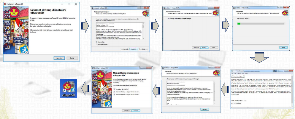 Download Aplikasi eRapor SD Versi V.1.0