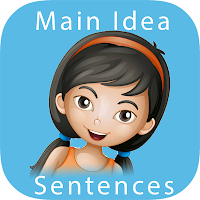 Main Idea - Sentences: Reading Comprehension Skills & Practice Game for Kids app