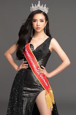 Runner up of Miss Vietnam 2018 Thuy An.
