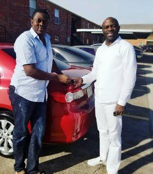 nigerian pastor gives muyiwa ademola car