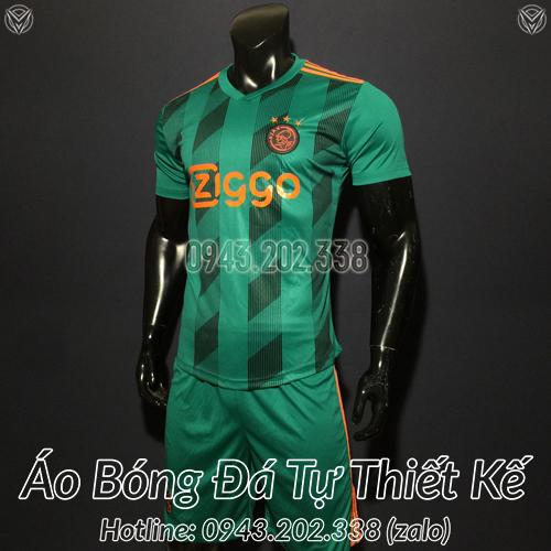 Áo Câu Lạc Bộ Ajax 2020 Sân Khách 2