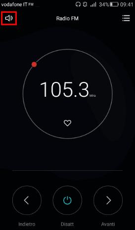 Attivare Radio FM Android su altoparlanti