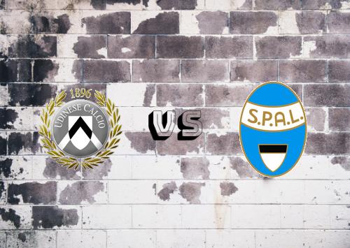 Udinese vs SPAL  Resumen