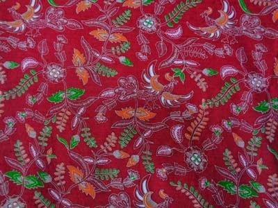 Seragam Batik Solo Printing Motif A18