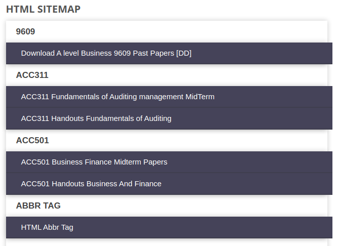 Blogger Sitemap Page Generator Script 3