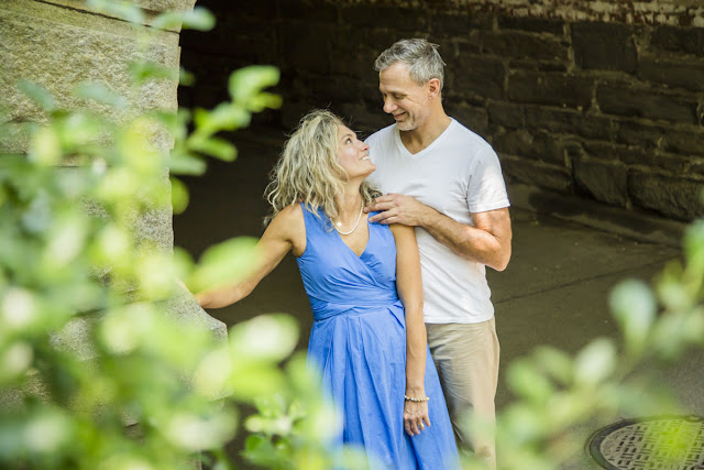 Engagement photo shoot in Central Park New York