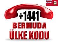 +1 441 Bermuda ülke telefon kodu
