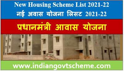 New Housing Scheme List