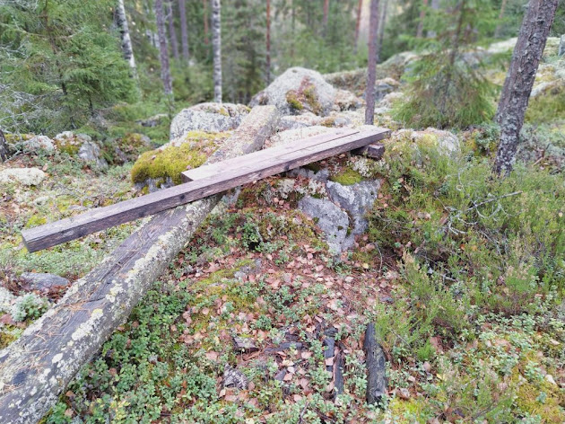 Old campsite