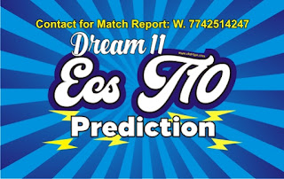 Cricfrog Who Will win today European Cricket Series SIG vs KCC Semi Final ECS Ball to ball Cricket today match prediction 100% sure