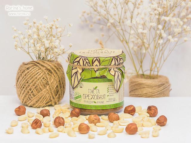 Арахисовая паста с фундуком «Ореховая» Древо Жизни: отзывы