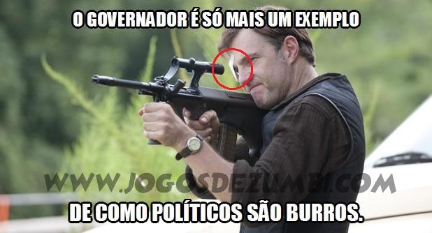 O Governador é um típico político