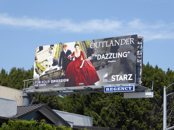 Outlander season 2 Emmy consideration billboard