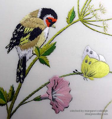 Detail from Helen M. Stevens' design Spring