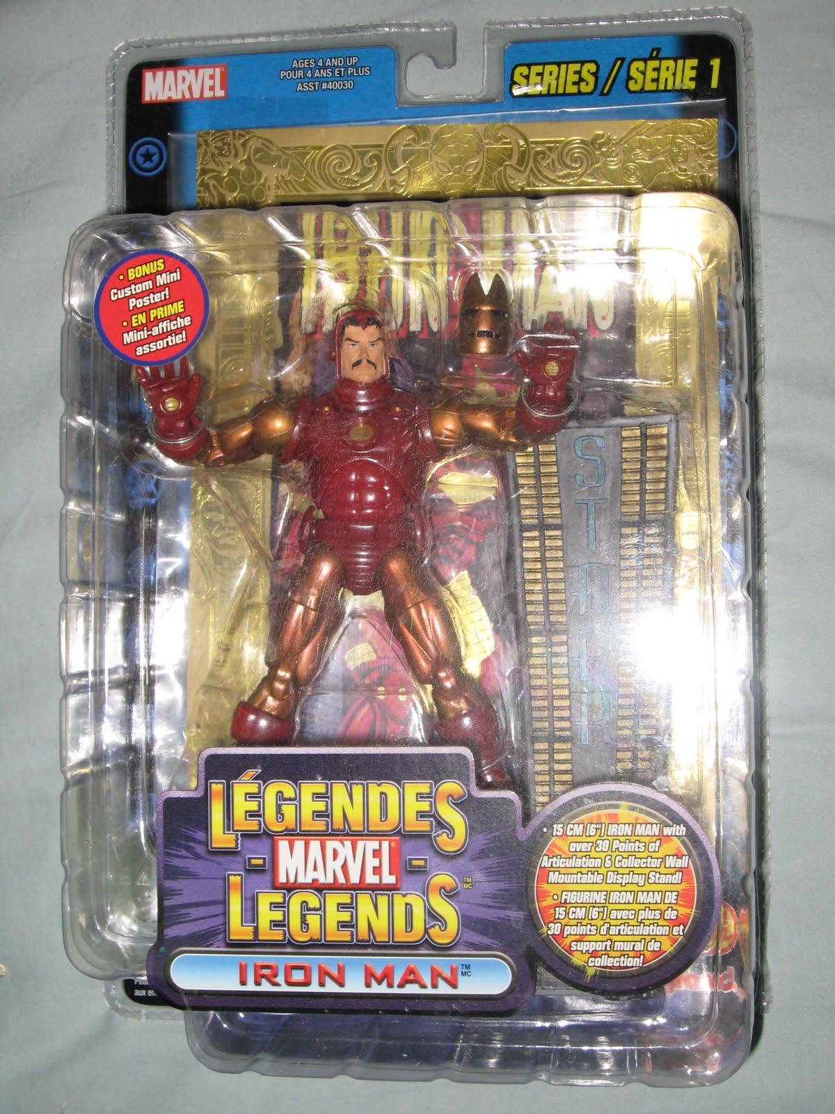 ToyBiz Marvel SPACE ARMOR IRON MAN Figure MOSC