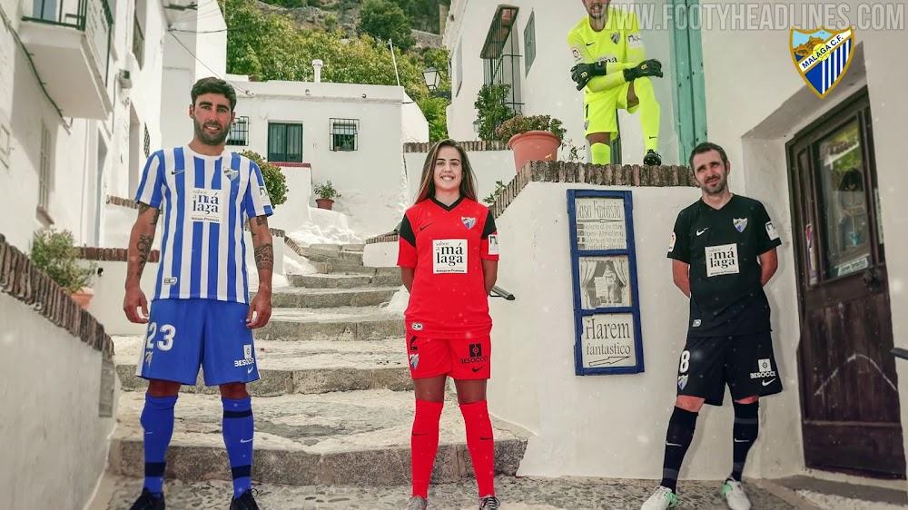 Malaga 21-22 Home, Away, Third & Goalkeeper Kits Released - Generic Nike  Teamwear - Footy Headlines