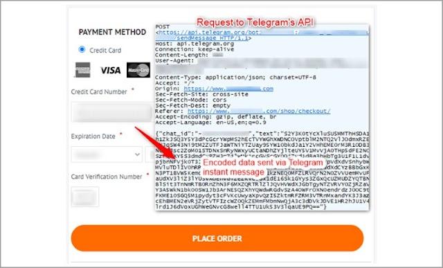 Delincuentes usan Telegram para robar datos de tarjetas de pago