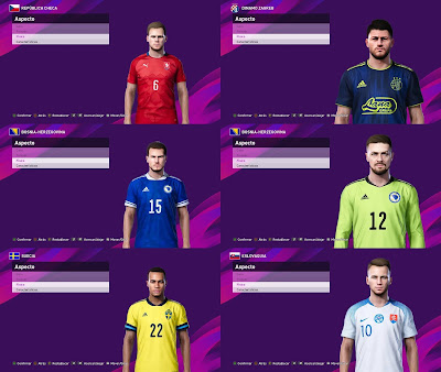 PES 2020 Extracted Facepack DLC 8.0