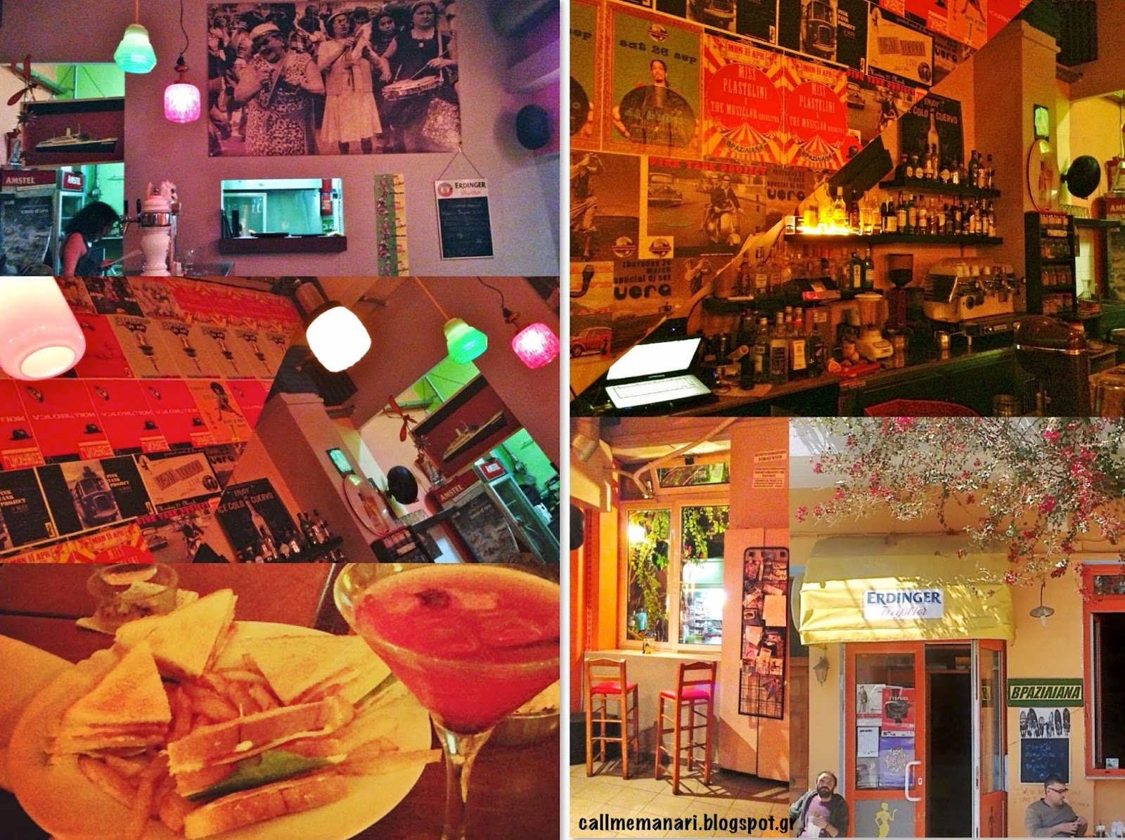Πρόκειται για ένα μοντέρνο καφέ-μπαρ με φθηνά ποτά   σνακ 64d0dbba1ce