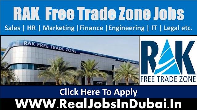Ras Al Khaimah Free Trade Zone Jobs In Dubai  UAE