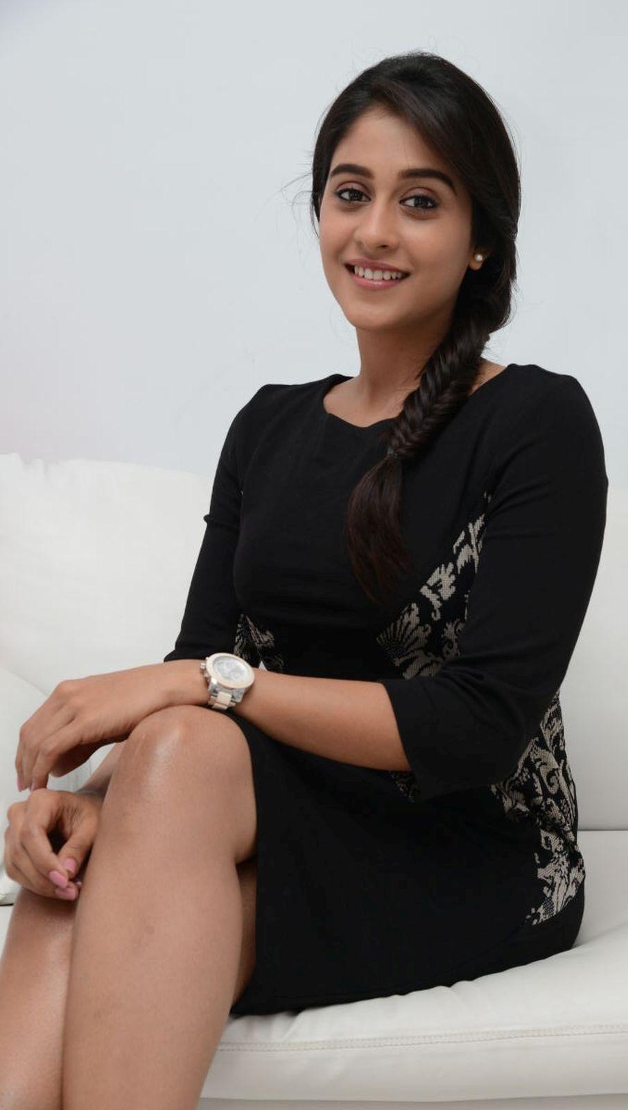 Regina Cassandra Cute Hot Photos In Black Dress