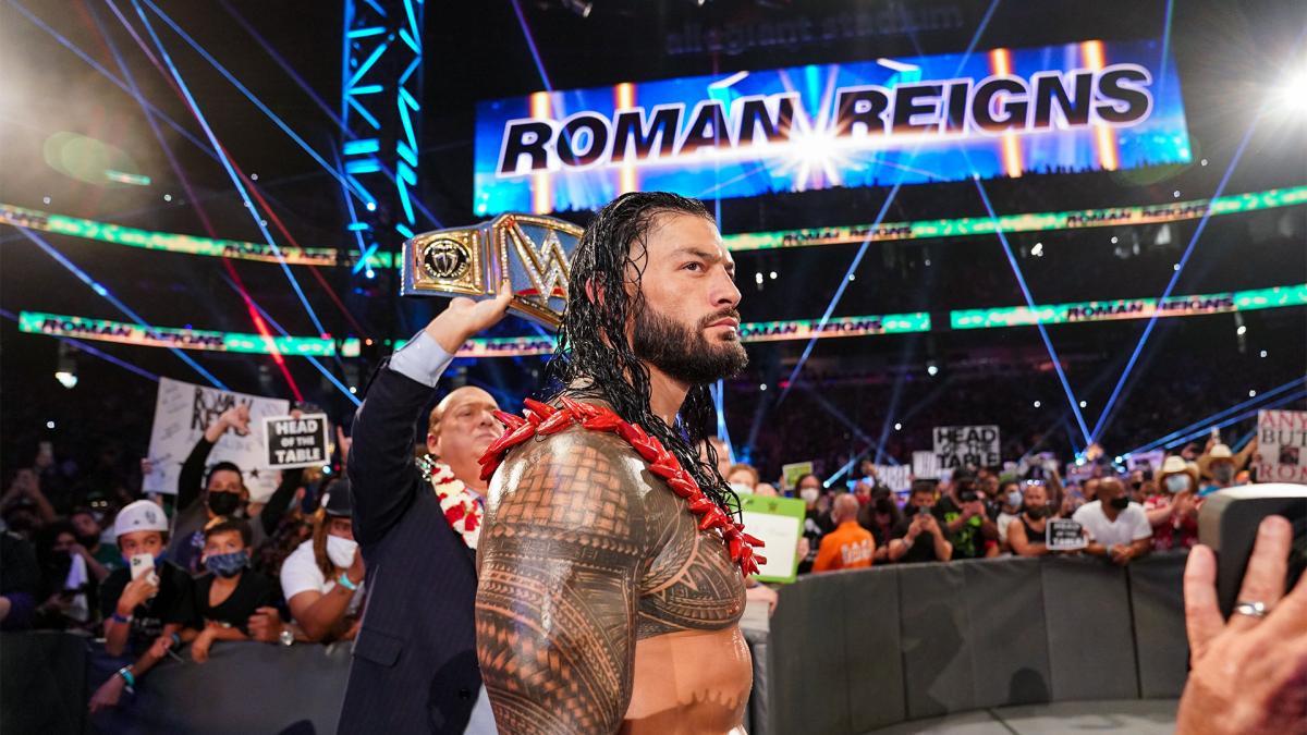 """Roman Reigns vs. Brock Lesnar"" deverá acontecer somente no WWE Crown Jewel"