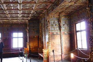 Interior del Castillo de Hohensalzburgo.