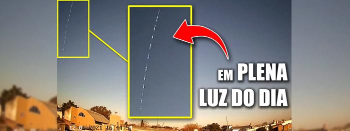meteoro durante o dia na argentina em 12 de junho de 2021