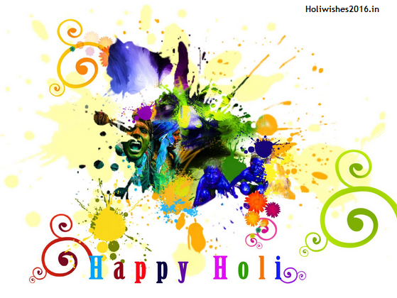 Greeting Happy Holi