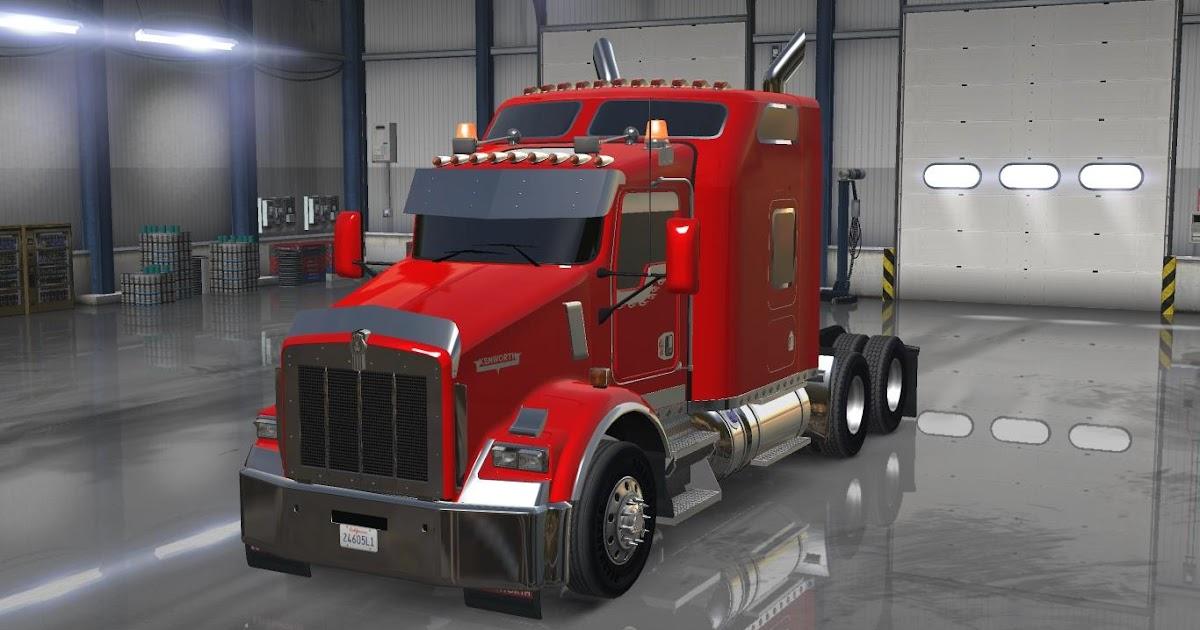 2017 Peterbilt 579 >> Caminhão Kenworth T800 V.1.0! - American Truck Simulator Mods - Os Melhores Mods Estão Aqui!