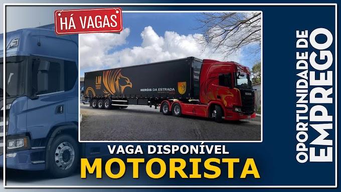 Transportadora T2P abre vagas para motorista de caminhão