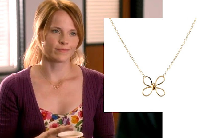 Katie LeClerc (Daphne Vasquez) wears Peggy Li Creations jewelry