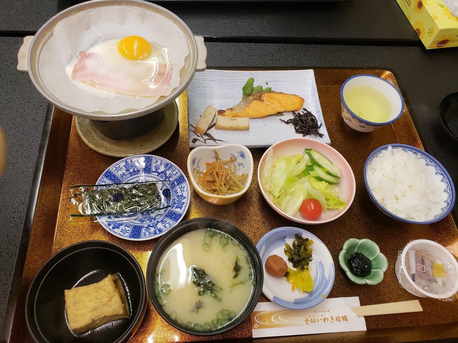 雲仙いわき旅館 朝食
