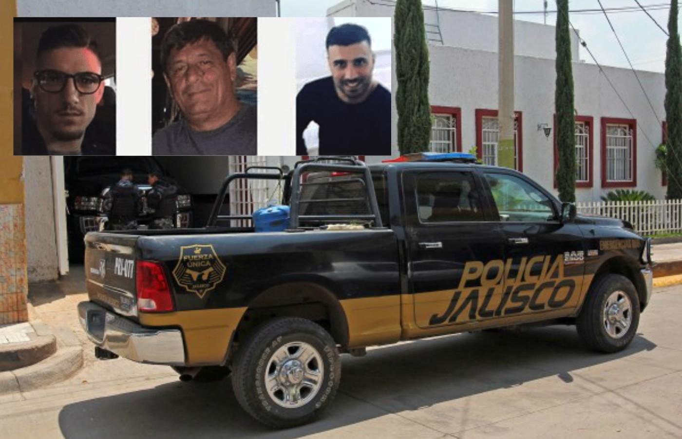 """Policías de Jalisco aceptan haber """"levantado"""" a los Italianos y haberlos entregado a """"la maña"""""""