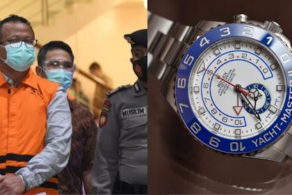 Harga Jam Tangan Rolex Edhy Prabowo Bikin Kaget, Harganya Setara 15 Unit Motor Honda Beat