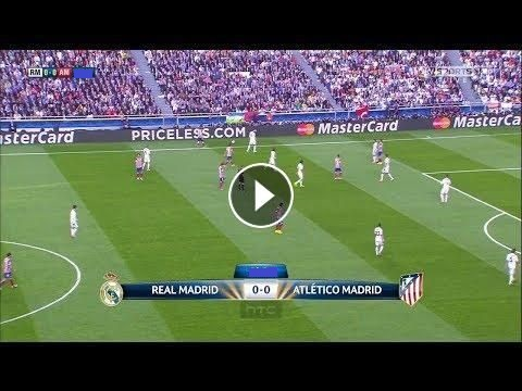 Real Madrid- Atletico Madrid match en direct