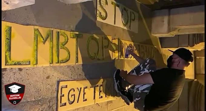 Egyetemisták tiltakoztak az ELTE bölcsészeinek érzékenyítő kampánya ellen