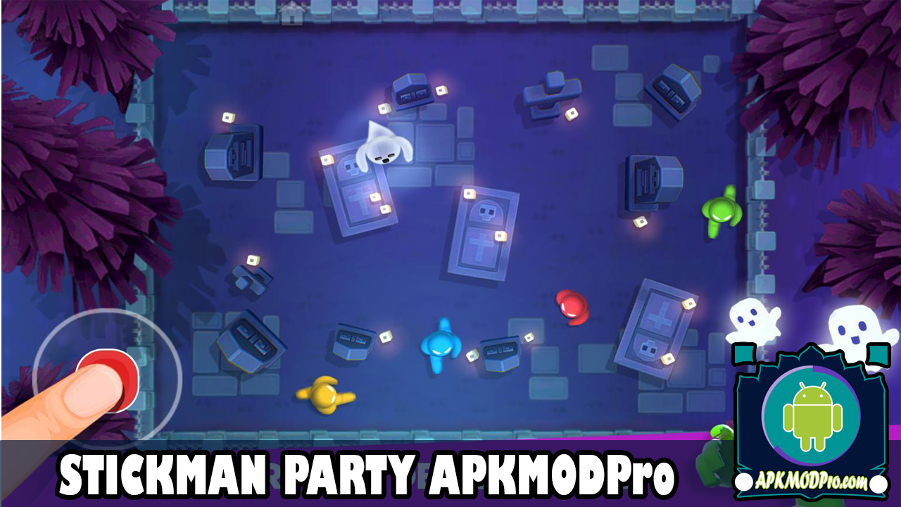 Download Stickman Party Mod Apk 1.9 (Unlimited Money) Terbaru 2020