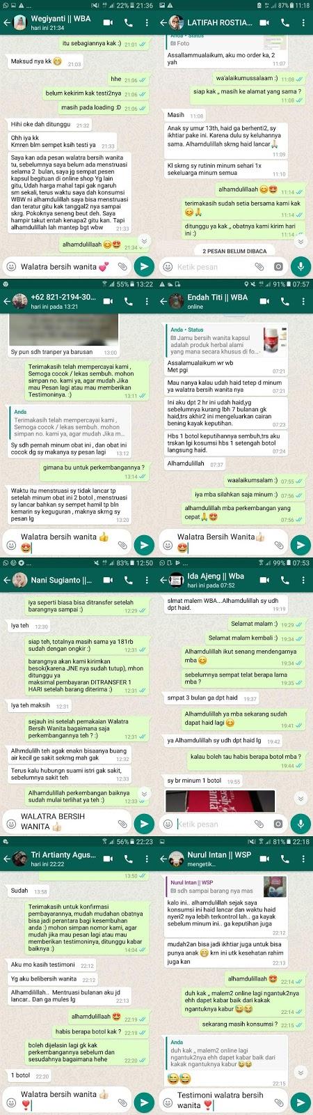 Walatra Bersih Wanita Asli